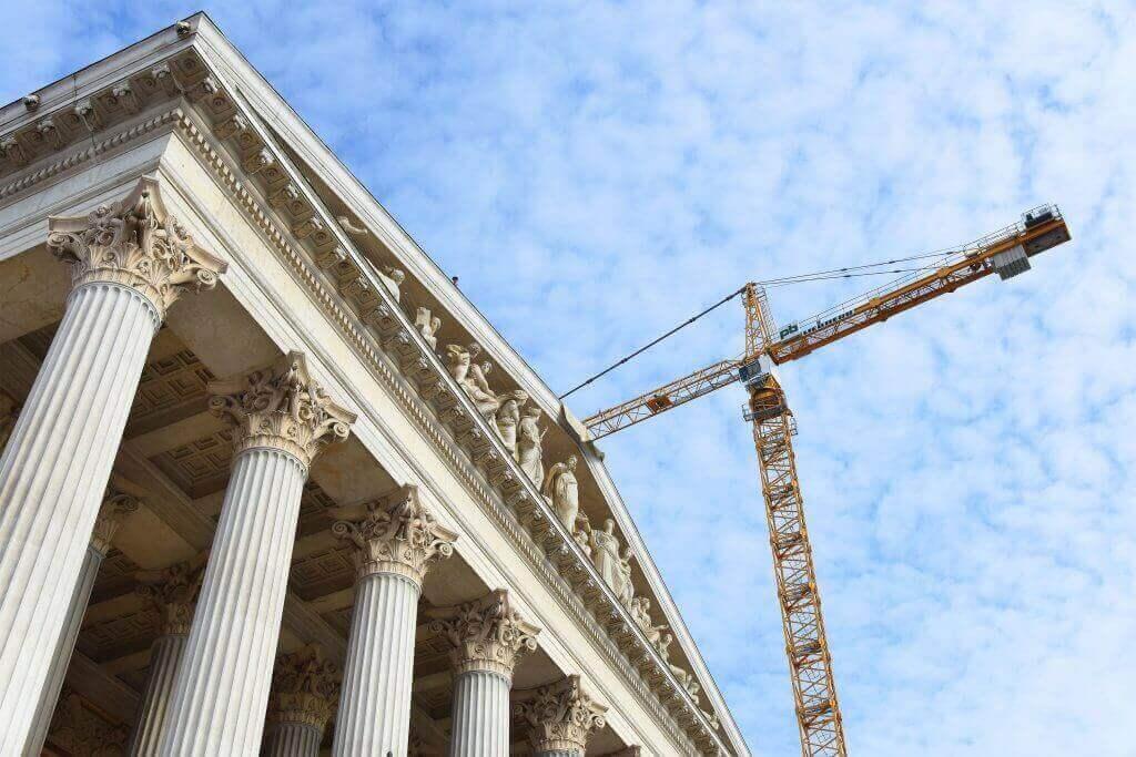 Vienna, General renovation of Austria Parliament