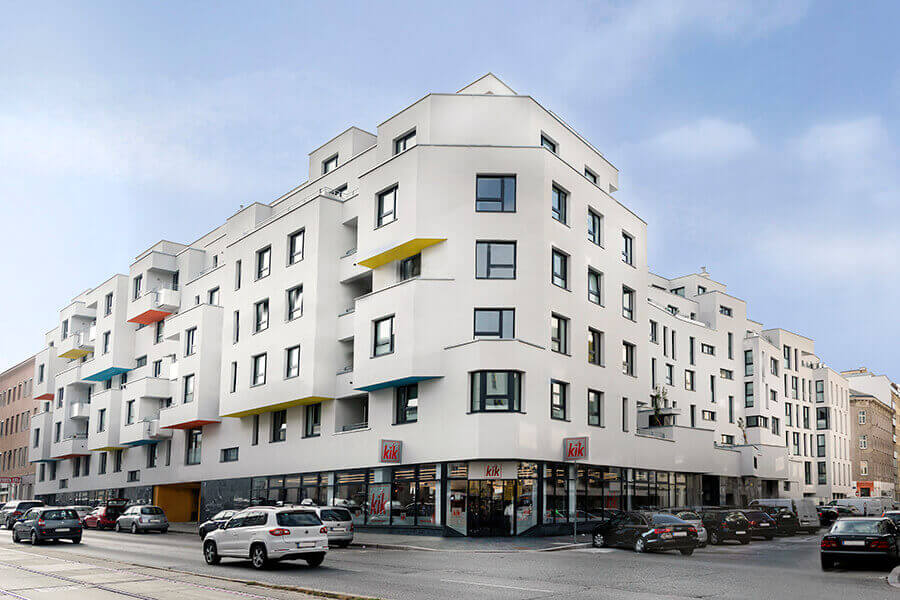 Vienna, Laxenburger Str. 52-56, residential complex