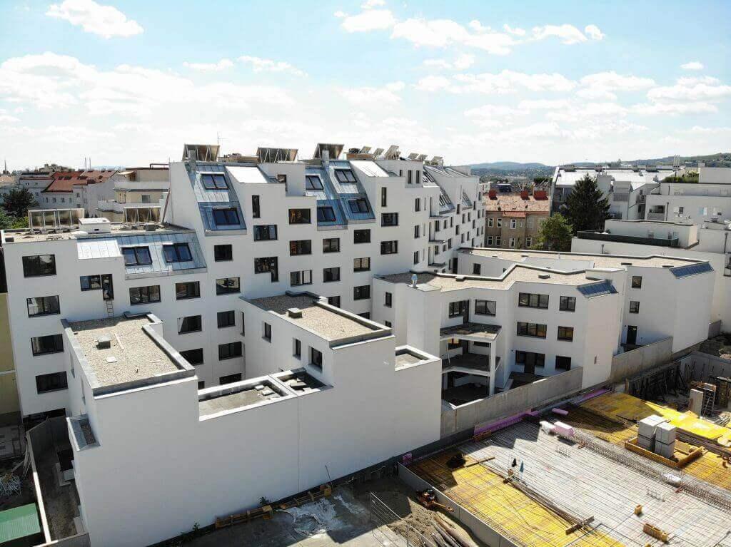 Vienna, Rappgasse 3-3c, Residential complex