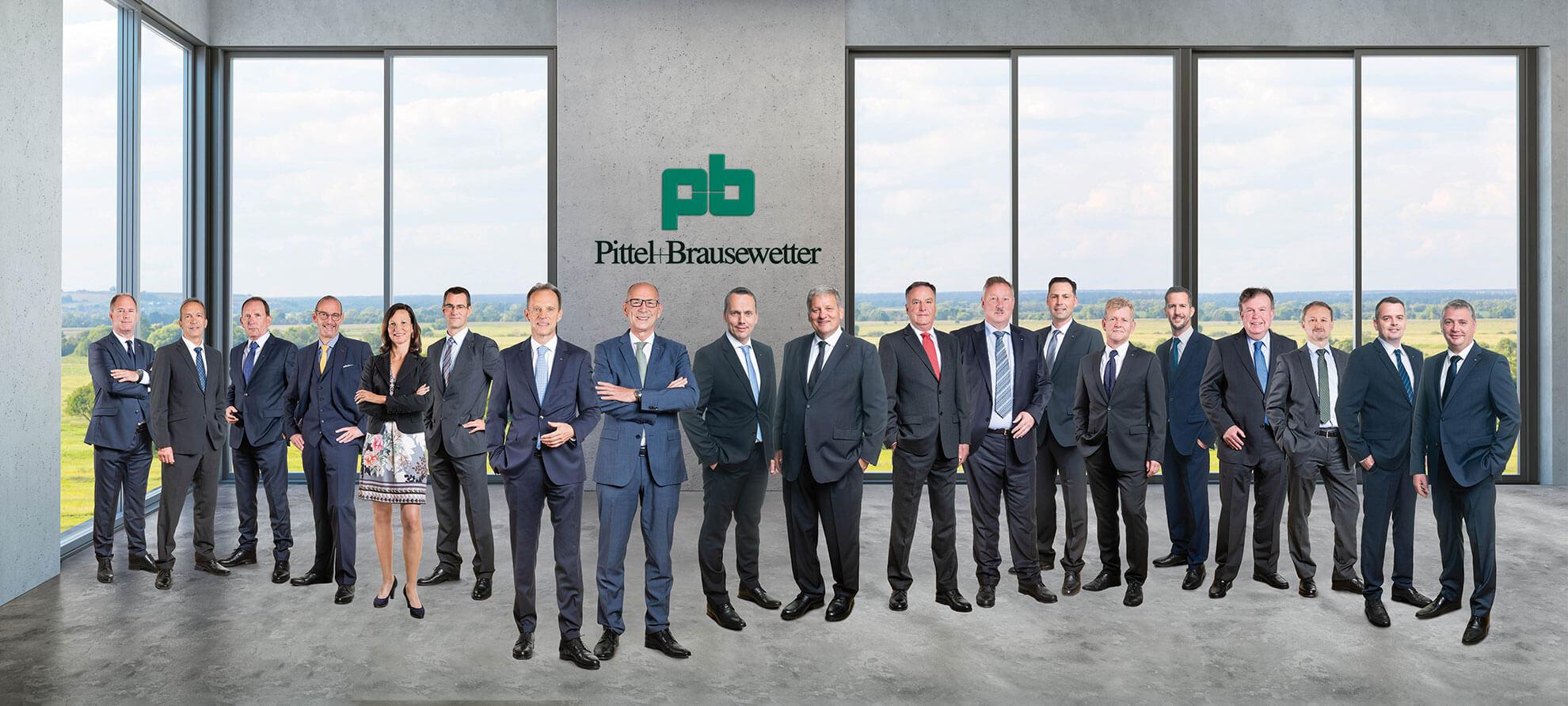 PB Geschäftsführer mit Bereichsleitern