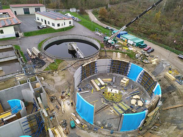 Tulln, Lower Austria, Sewage plant